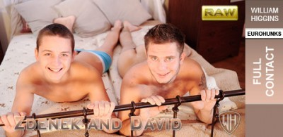 WHiggins - David and Zdenek - Screen Test Raw - Full Contact - 05-12-2012
