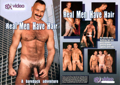 Description Real Men Have Hair
