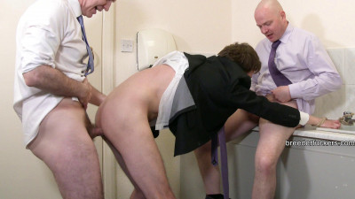 Joe – Restrained in a public toilet,face shoved in urinal