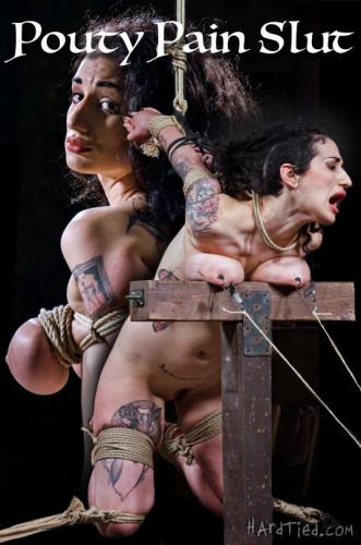 Pouty Pain Slut -Arabelle Raphael , Jack Hammer