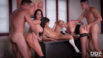 Description Epic Student-Teacher Orgy