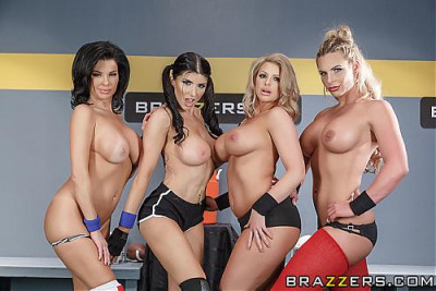 Description Brooklyn Chase, Phoenix Marie, Romi Rain, Veronica Avluv - The Brzzrs Halftime Show II FullHD 1080p