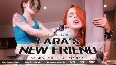 Description Laras New Friend(Amarna Miller & Onix Babe)- FullHD 1080p