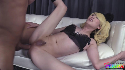 Blonde CD Pet Does What She Is Told – TS Zia Cristal – Full HD 1080p