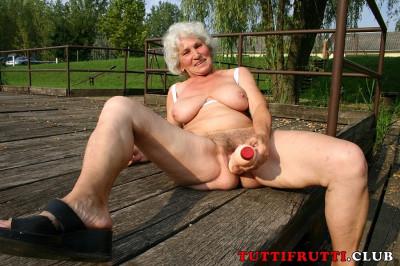 Norma Granny outdoor fun