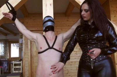 punish trans cock stretch (Mistress Ezada Sinn).