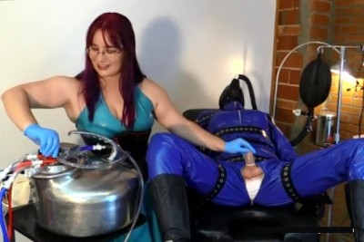 Slave Milking - Serious Kit Fucking Machine Bondage