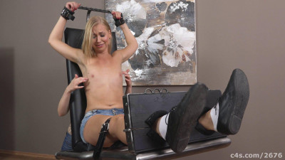 Description Ticklish blonde in socks-tickle torture women
