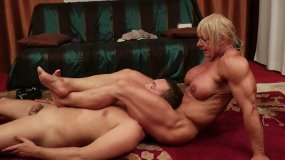Description The Cleaning Man - Starring Maryse Manios