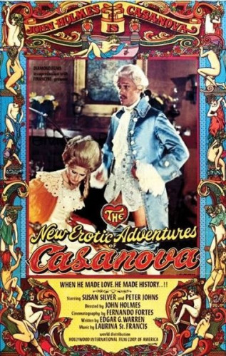 Description The New Erotic Adventures of Casanova - Susan Silver, Peter Johns(1977)