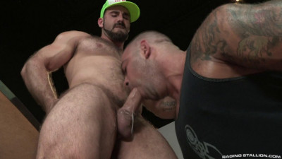 Description Big dick at back room