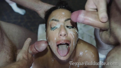 Description Tiffany Brookes - Gangbang & Bukkake