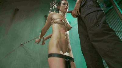 Slave Fucked Hard in Brutal Bondage