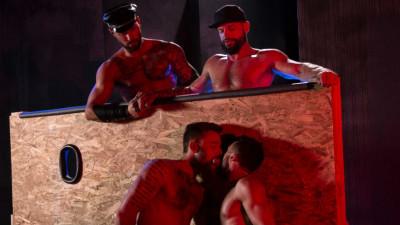 Beards, Bulges & Ballsacks!, Scene 4 Hoytt Walker, Michael Roman, Ryan Finch, Tex Davidson