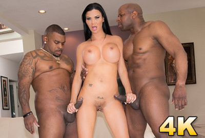 Jasmine Jae Gets Split Open By Prince and Ricco In An Interracial DP FullHD 1080p