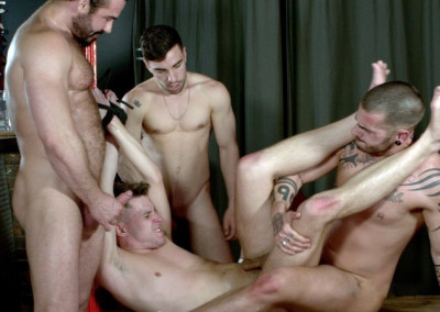 Hot foursome Aday, Dmitry, Jessy & Josh (720p)