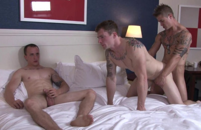 Markie, Michael & James In Anal Games