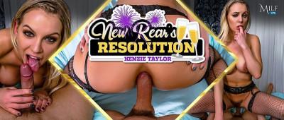 New Rear's Resolution - Kenzie Taylor - Full HD 1080p