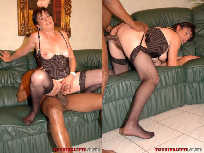 Hairy MILF kinky first shooting