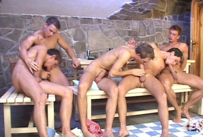 Winter Orgies With Young Males