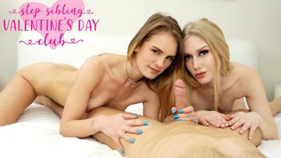 Description Emma Starletto, Natalie Knight: Step Sibling Valentines Day Club