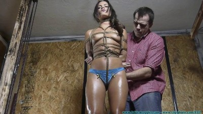 toy file vid english (Having Fun with My Bondage Toy Chi Chi 1 part - BDSM, Humiliation, Torture HD 720p).