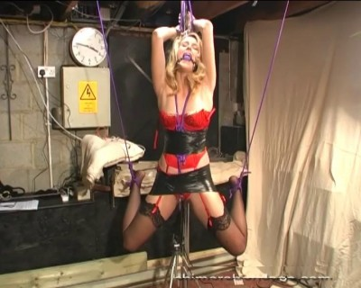 Ariel Ties Ropes Around Her Ankles (2013)