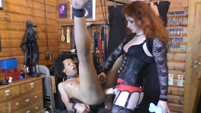 Mistress Lady Renee Dildo And Strap-On Slut