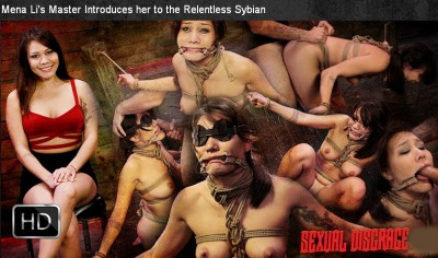 SexualDisgrace - May 30, 2014 - Mena Li's Master Introduces her to the Relentless Sybian