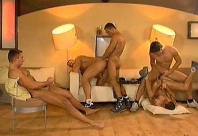 International orgy with many cocks