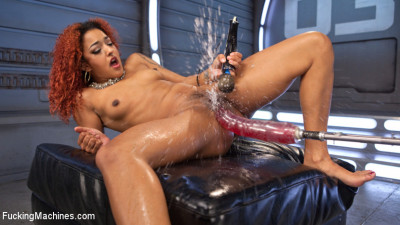 Pussy Stretched with Big Red, Ass Fucking, and Non Stop Squirting!!