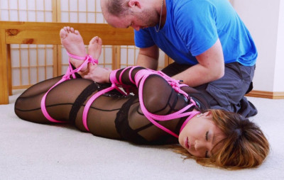 Rough Bondage For Young Asian Babe