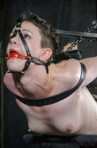 IR - Apr 18, 2014 - Hazel Hypnotic and Cyd Black - Stuck in Bondage - HD - extreme, new, tit, step, watch