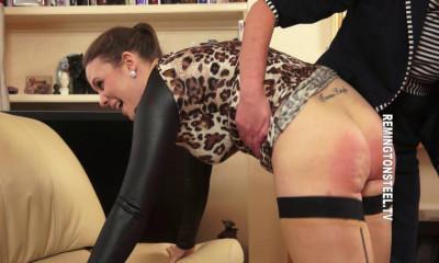 Remingtonsteel – Aleesha Fox is a very experienced spanking