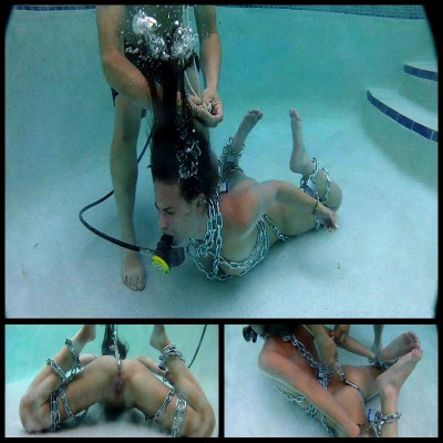 Underwater Ass Hooked (10 Mar 2015) H2oBondageGems