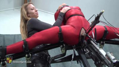 Super bondage, strappado and torture for very hot slavegirl