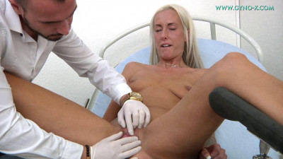 Description Theresa Pie (29 years girl gyno exam)