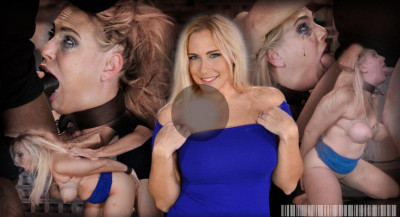 Rtb - Oct 07, 2014 - Big titted blonde Angel Allwood brutally bound