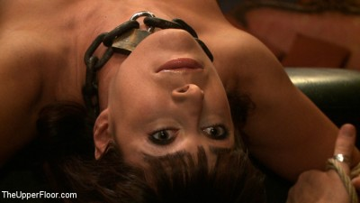 Eager Slut Submits To Nipple Torture And Orgasms In Strenuous Bondage