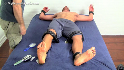 Jeremeye's Ticklish Size 14 Feet & Body Tickled