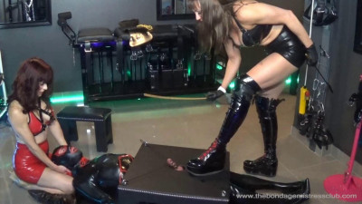 Mistress Miranda In Electric Paddle Finale