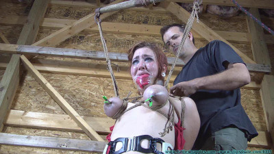 Barnyard Bondage for Riley Her Ordeal Continues pt.3