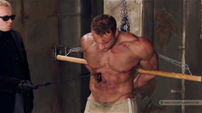 Bodybuilder Roman in Slavery - Final