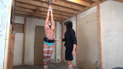 Description Muscular Woman Hung Like A Side Of Beef