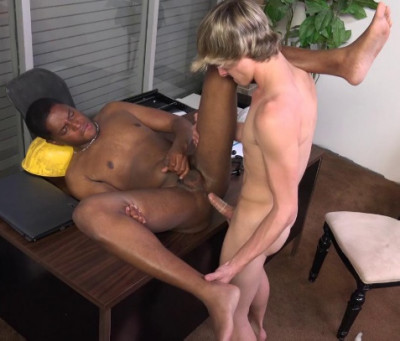 Jessie Montgomery & Matthew James Like Interracial Fuck