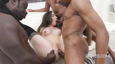 Hardcore slut Nataly Gold endures Eight Dap positions Three Bbc
