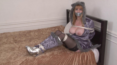Bound and Gagged – Cute Bondage with Wolfgirl Lorelei