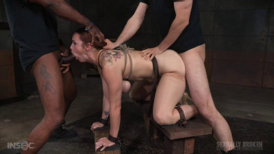 Bella Rossi Bars Show Continues With Rough Doggy Style