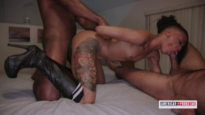 Nikki Darling gets Double Dicked
