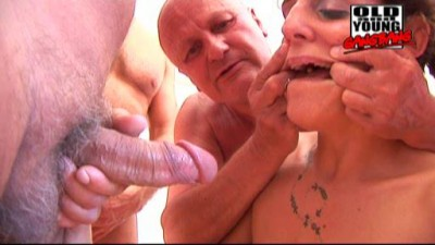 Old And Young GangBang-Dominika